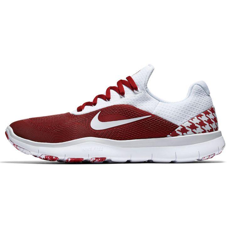 Alabama Crimson Tide Nike Free Trainer V7 Week Zero Shoes - Crimson/Gray