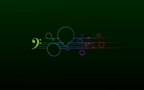g clef background wallpaper - photo #13