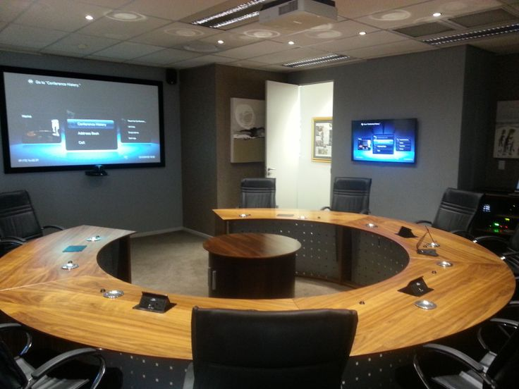 Crestron Conference Room Control System
