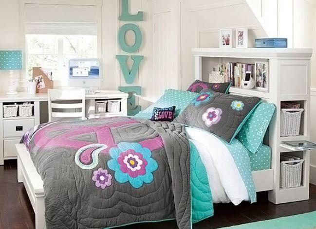 41 best teenage girl bedroom ideas images on Pinterest Teenage