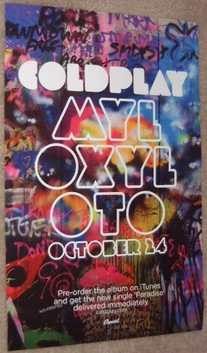 COLDPLAY - Mylo Xyloto - Promotional Poster - 11 x 17 inches by Moving Image Posters, http://www.amazon.com/dp/B006EPK29O/ref=cm_sw_r_pi_dp_EFWPpb0VS2GE1