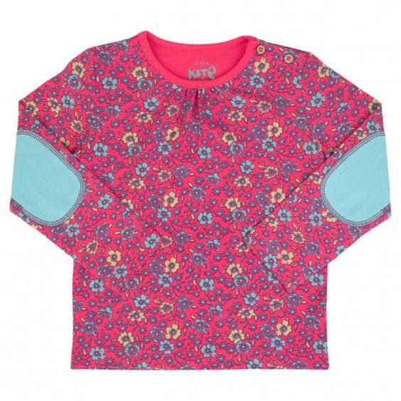 KITE Tynn genser med blomstermønster #clothing #babyclothing #barneklær #klær #kidsfashion #baby #babyklær #barnimagen #nybakt #gravid #babygave #barnegave #gave #babyshower