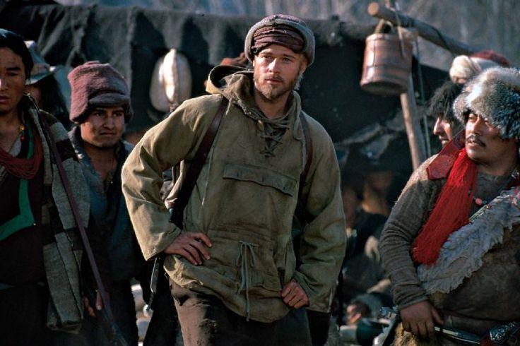 Brad Pitt in Seven Years in Tibet (1997)