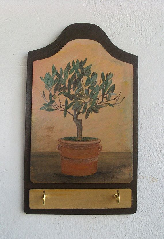 Check out this item in my Etsy shop https://www.etsy.com/listing/117819028/olive-tree-wooden-key-holder