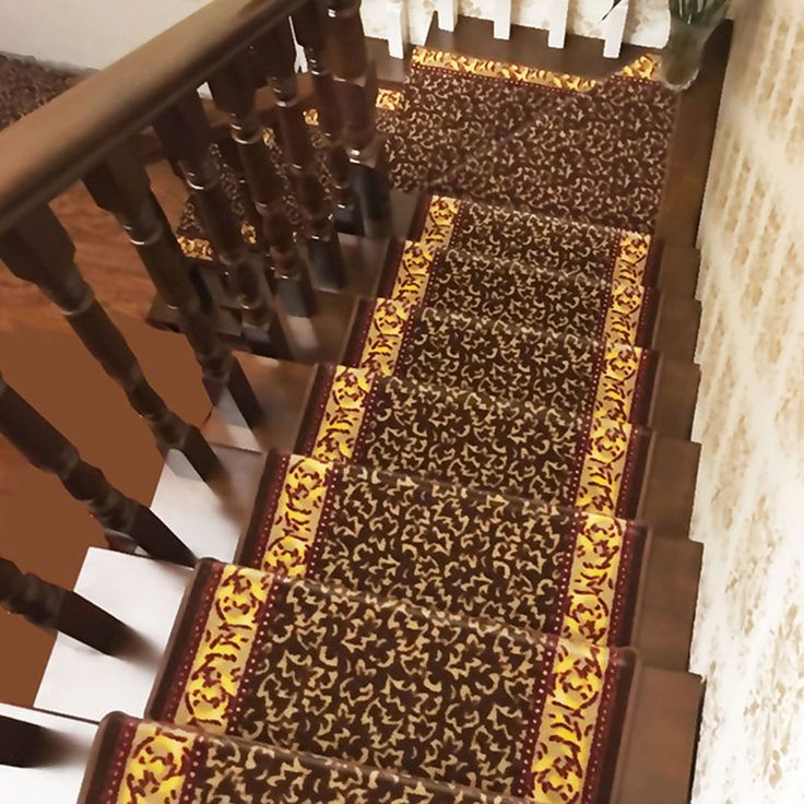 Top Selling 1Piece Stairs Mat Elegant Stair Carpet Non-Slip Stair Tread Mats Rugs for Stair Step Home Textile #Affiliate