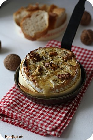 Une bonne idée de recette pour revisiter le #Camembert ! Un #Pinot noir d'Alsace pour accompagner votre recette et le tour est joué.