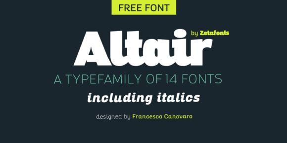 Font dňa – Altair   https://detepe.sk/font-dna-altair