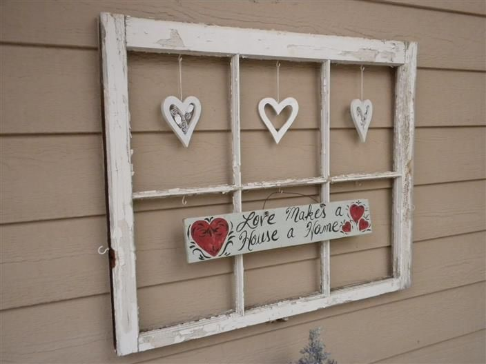 Find This Pin And More On Decorating   Old Windows Remade By Taralynee.
