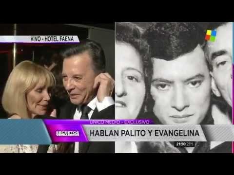 El gran festejo de Palito Ortega y Evangelina Salazar por sus 50 años de...