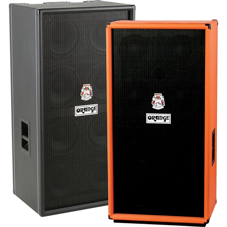 Orange Amplifiers OBC Series OBC810 8x10 Bass Speaker Cabinet Orange