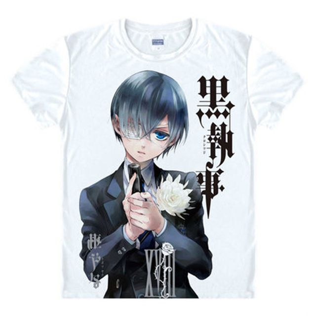 Check it on our site Anime Black Butler T Shirt men Short Sleeve Cartoon Sebastian Michaelis T-Shirt Cosplay Costume Clothing Free Shipping just only $10.01 with free shipping worldwide  #tshirtsformen Plese click on picture to see our special price for you