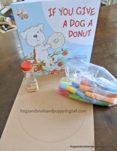 If you give a dog a donut book craft