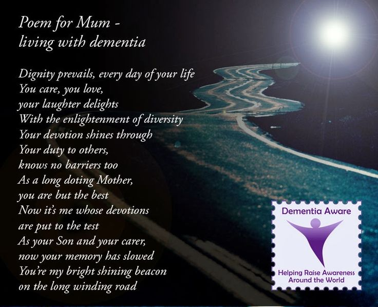 I Hate My Mom Poem: Design For Dementia: My Poem For Mum