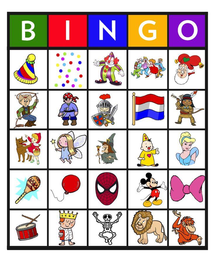 * Bingo: carnaval 5-25