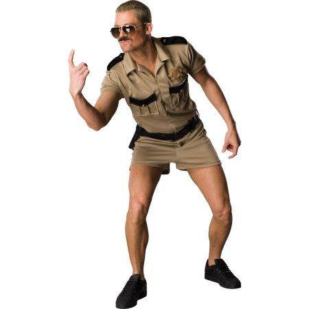 Reno 911 LT Dangle Adult Halloween Costume - One Size, Men's, Multicolor