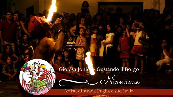 Nirname - il Fachiro a Gioiosa Jonica - Artisti di strada Puglia e Sud I...