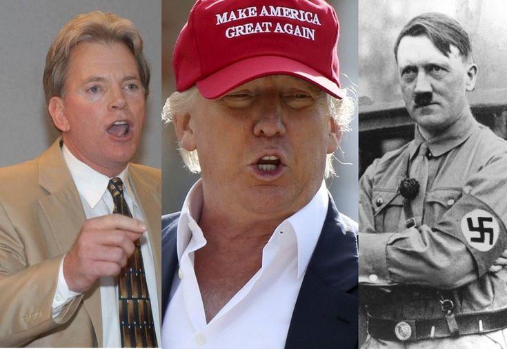 "David Duke thinks Trump is helping to ""rehabilitate"" the image of Adolf Hitler."