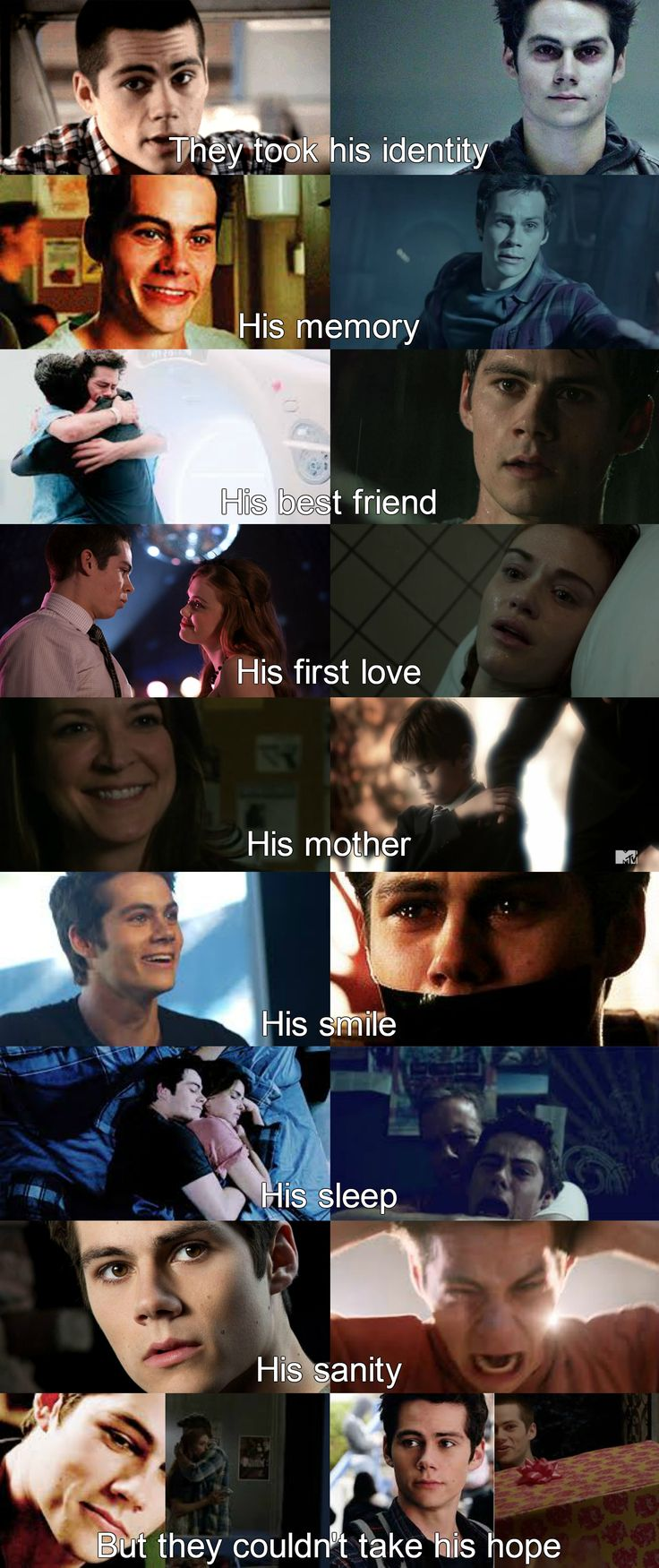 Teen wolf- Stiles what they took