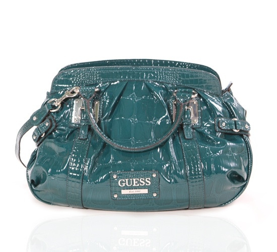 Guess Teal Tote on glamouronthego.co.uk