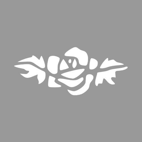Sjabloon roos - Vele afmetingen