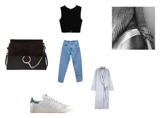 """Untitled #39"" by marssysl on Polyvore featuring Pull&Bear, Chloé, TIBI, Zara and adidas Originals"