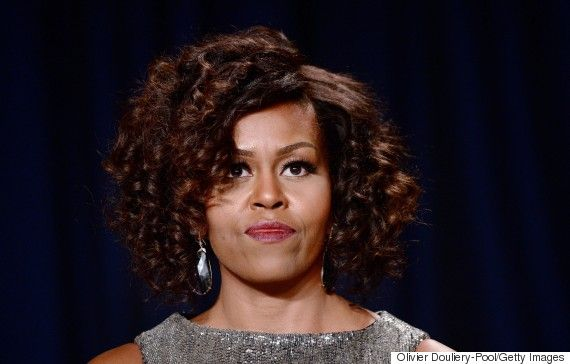 Michelle Obamas Dress At The White House Correspondents Dinner Is Sparkly Perfection