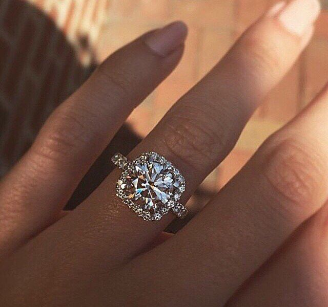 Stunning engagement ring                                                                                                                                                                                 More
