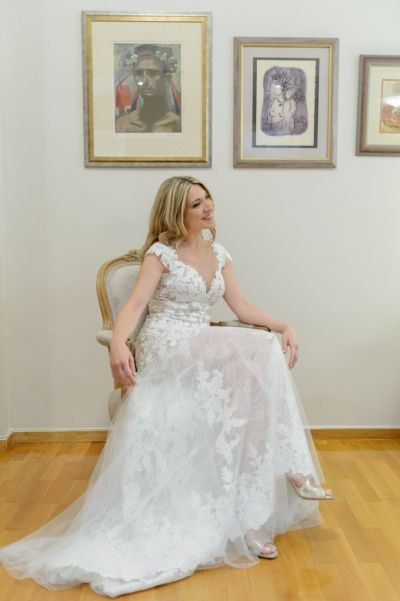 Bridal Preparation. See more of this Majestic Wedding at Melissourgos Tower by Phosart Photography & Cinematography