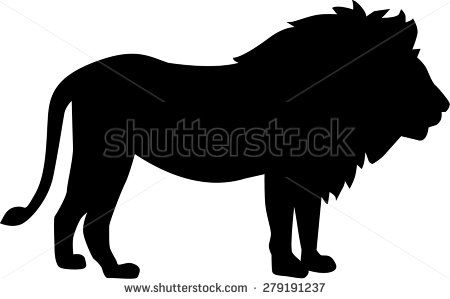 17 best ideas about lion silhouette on pinterest wild