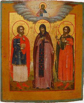 www.larici.it > culturadell'est > icone-religione > Santi Cosma e Damiano
