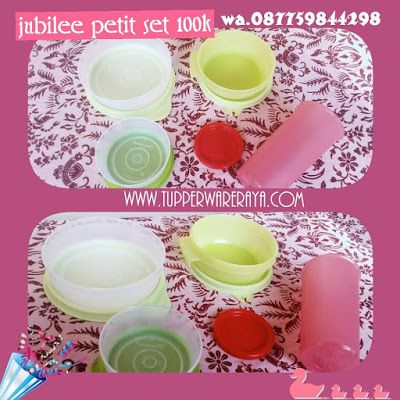 Tupperware Murah Jubilee Petit Set