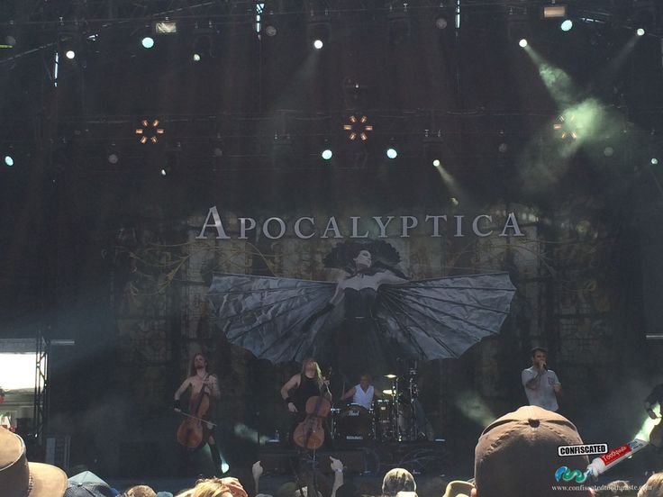Apocalyptica. The 2015 Soundwave Music Festival in Sydney--> http://www.confiscatedtoothpaste.com/the-2015-soundwave-music-festival-in-sydney/