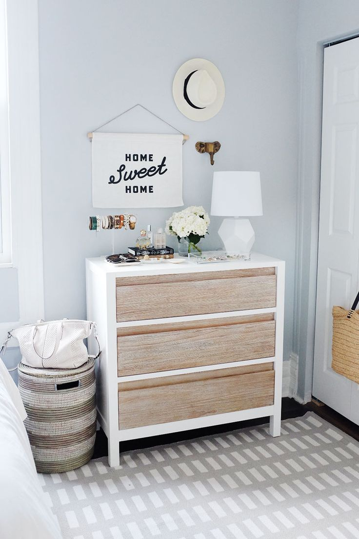 2 Ways to Make the Most of Styling Your Dresser #theeverygirl
