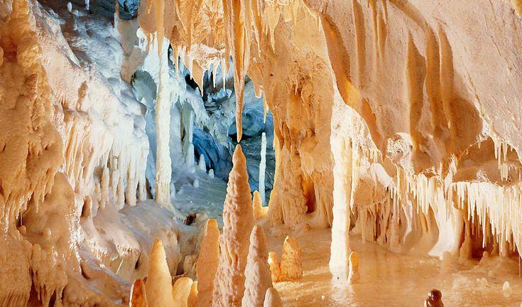 le grotte nel interno