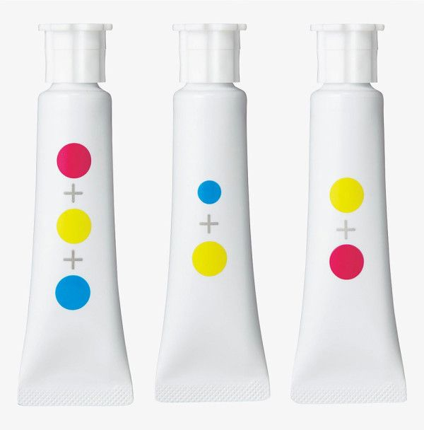 Every shade of color seems to have a name these days, which can, in a way, limit our minds, or so believes Japanese young designer duo Ima Moteki (Yusuke Imai and Ayami Moteki). The pair decided to create the Nameless Paint Set as a way to let kids learn about color in a whole new way.