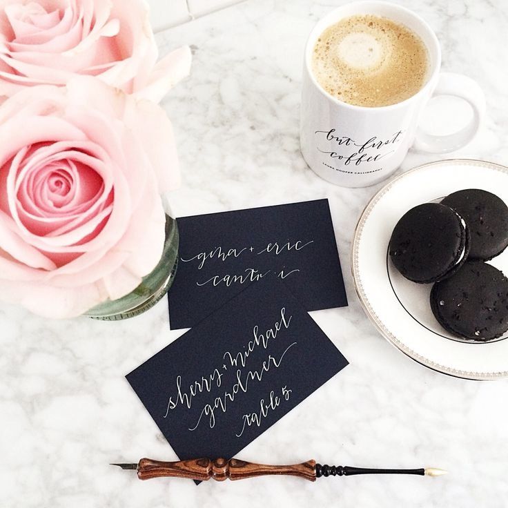 But First Coffee Mug By Laura Hooper Calligraphy