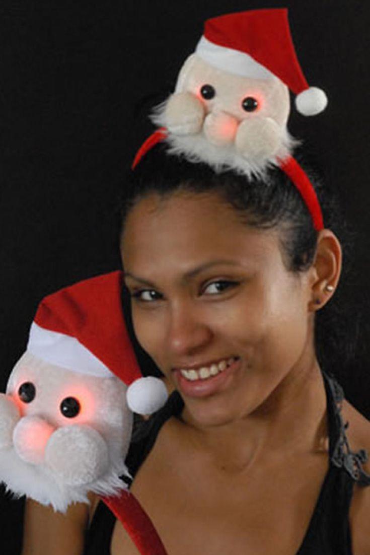 Kerstman Haar Decoratie Kerstkleding Kerstman Kerst