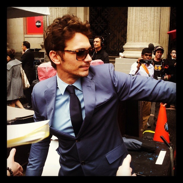 Oz's James Franco gets a star on the Hollywood Walk of Fame (with images, tweets) · lisabrenner