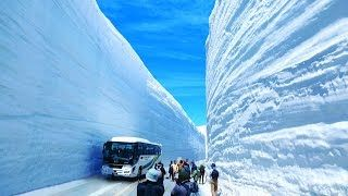 Epic High Deep Snow Removal Mega Machines: Grader, Truck, Loader, Bulldozer, Excavator, Tank - YouTube