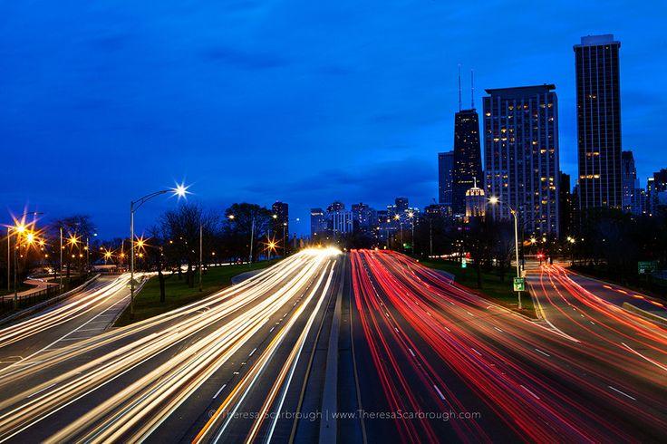 Lake shore drive chicago illinois fine art landscape for Chicago landscape