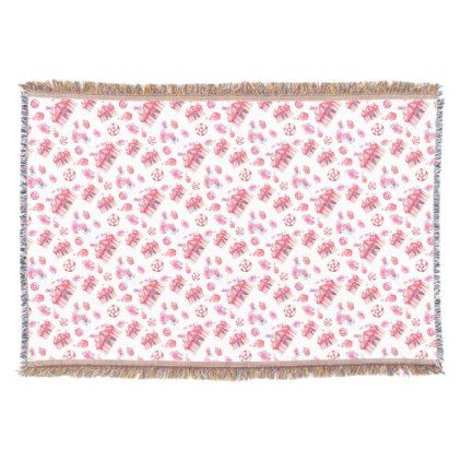 #Big Tent Sweets Throw Blanket - #birthday #gifts #giftideas #present #party