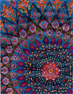 Exhibit Showcases Art Inspired by Nature, Ancient Persian Architecture. A Window to Heaven: Motifs of Nature in Life and Dream