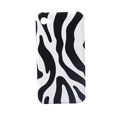 Lagging Protective PVC Case Cover for iPhone 4 (Zebra Stripe) – € 3.26