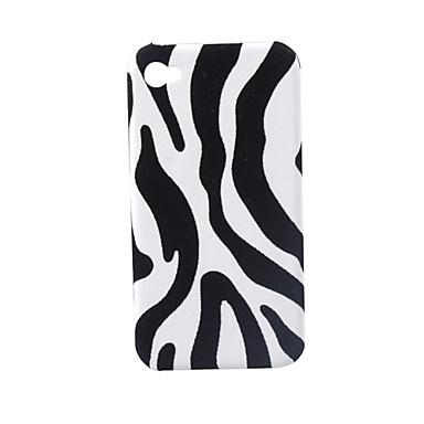 Lagging Protective PVC Case Cover for iPhone 4 (Zebra Stripe) – € 3.26