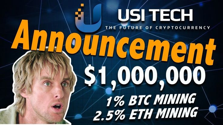 Coin Talk #12 - USI-TECH Update  |  $1000000 Contract for BTC & ETH Mining https://youtu.be/xDYwGze6PM8  Transform Your Life with Our  Innovative and Automated Bitcoin Trading Platform  USI-TECH is aggressively investing in cryptocurrency mining.  We have secured nearly $100 million USD in contracts for ASIC and GPU mining hardware with strategic locations in Asia Europe and Iceland chosen for power and proximity to technology partners.  With a full deployment planned by the end of 2017…