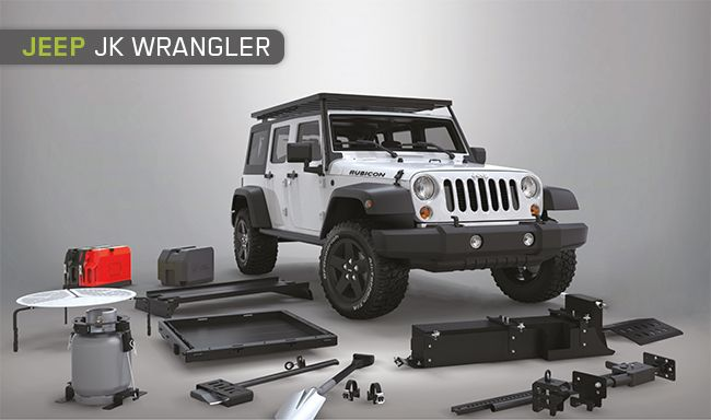 Assorted accessories for the JKU