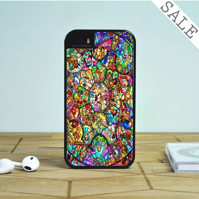All disney heroes stained glass iphone Case For iPhone | Samsung Galaxy | HTC Case