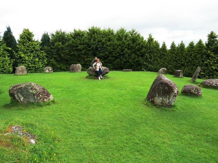 **Stone Circle (stones from 2000 BC Druids - Kenmare, Ireland