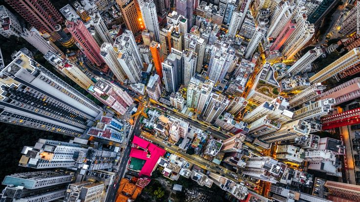 """""""What I like most about working with drones is we can see things we normally don't have access to,"""" photographer Andy Yeung tells CNN. Click on to see how the Hong Konger has managed to capture the familiar in an original light."""