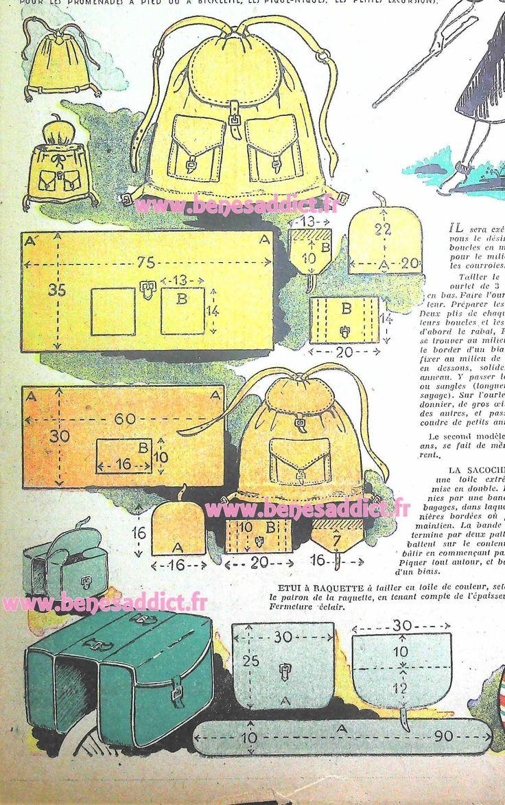 GRATUIT! 45 SUPERBES Patrons Couture Classic de 1948! FREE Stitching patterns